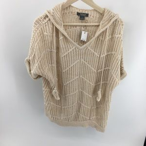 Natural Reflections V Neck Knit Sweater NWT